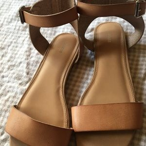 Nude Express sandals